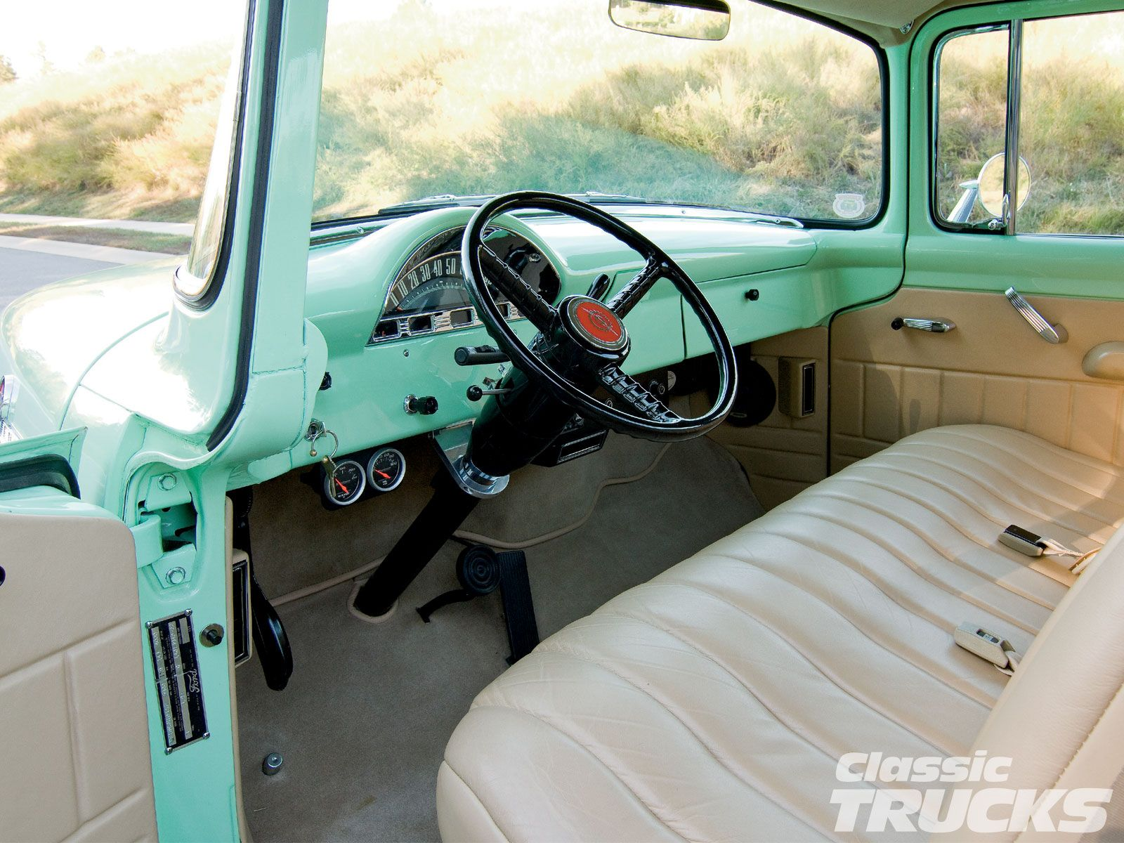 Images about trucks amp cars on pinterest ford trucks and ford trucks - 1956 Ford F100 Interior 1956 Ford F100 Interior 1956 F100diy Interiorford Trucksinteriorscars