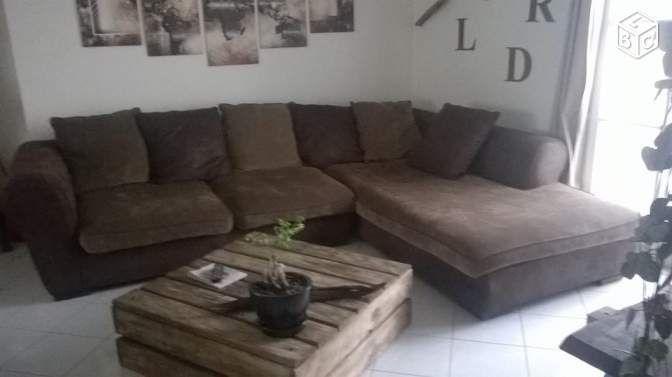 canap d angle bois et chiffons xxl canap s pinterest ameublement et maison. Black Bedroom Furniture Sets. Home Design Ideas