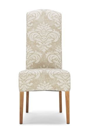 Set Of 2 Sienna Natural Damask Fabric Dining Chairs From The Next Uk Online
