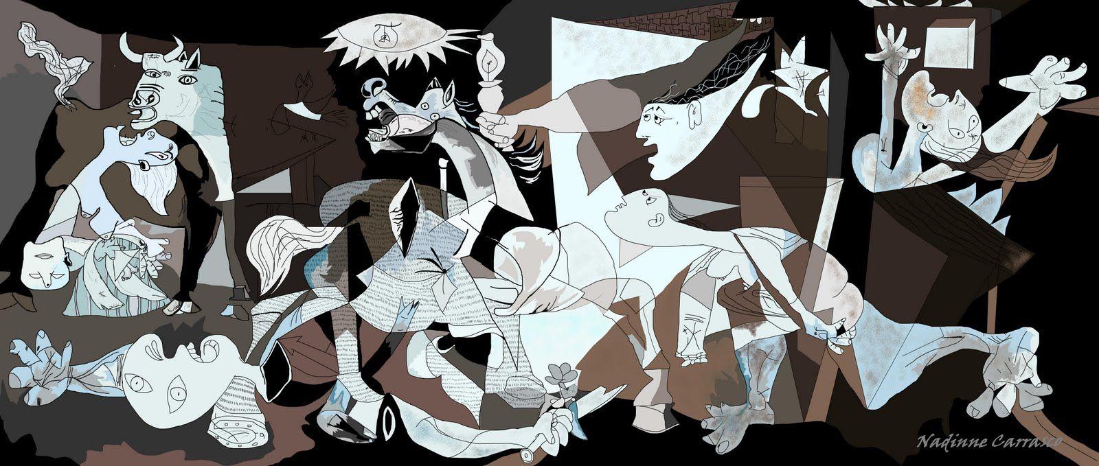 Título:El Guernica Fecha: 1937 Autor: Pablo Picasso Estilo ...