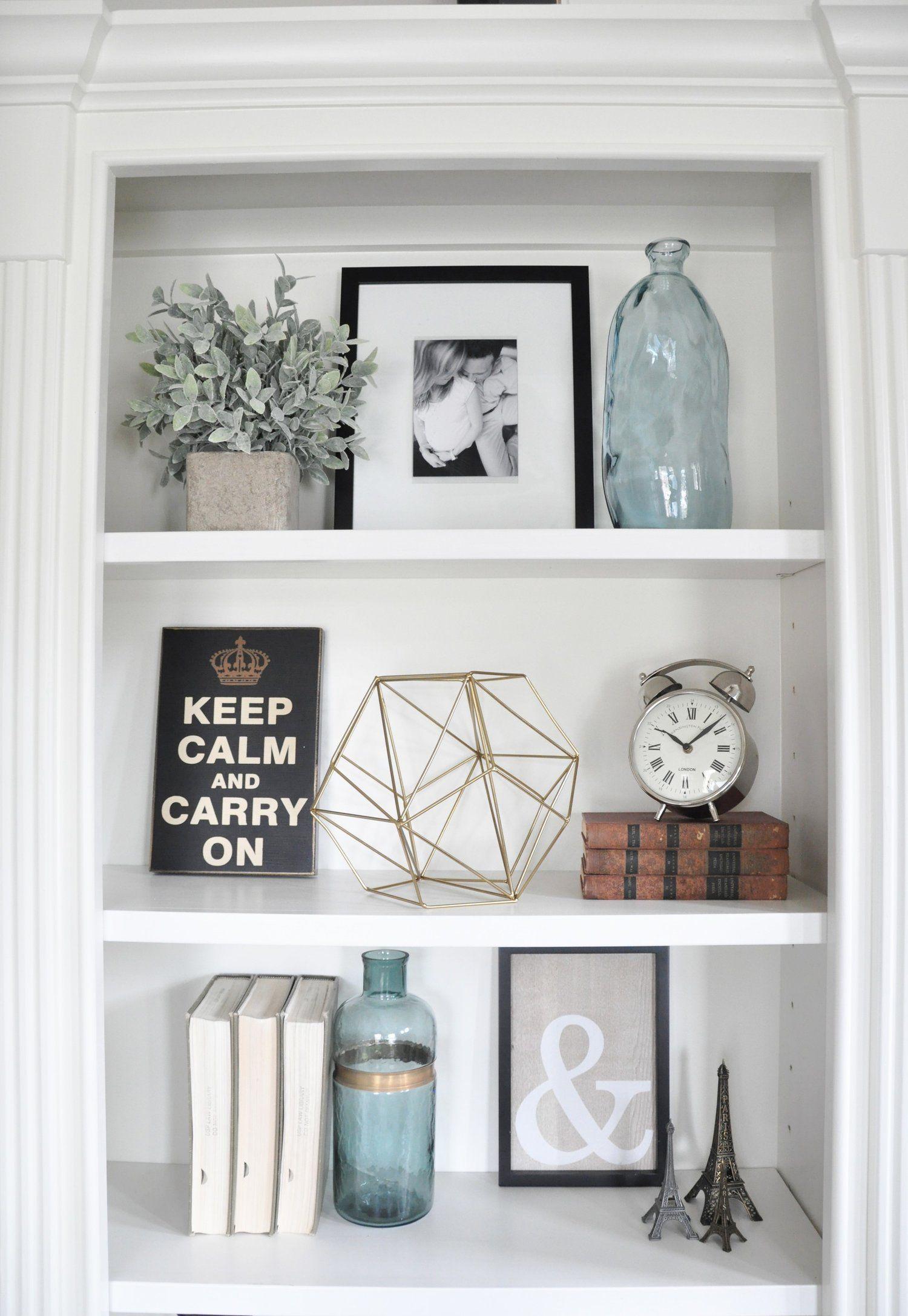 Styling Built Ins Decorating Bookshelves Home Decor Bookshelf