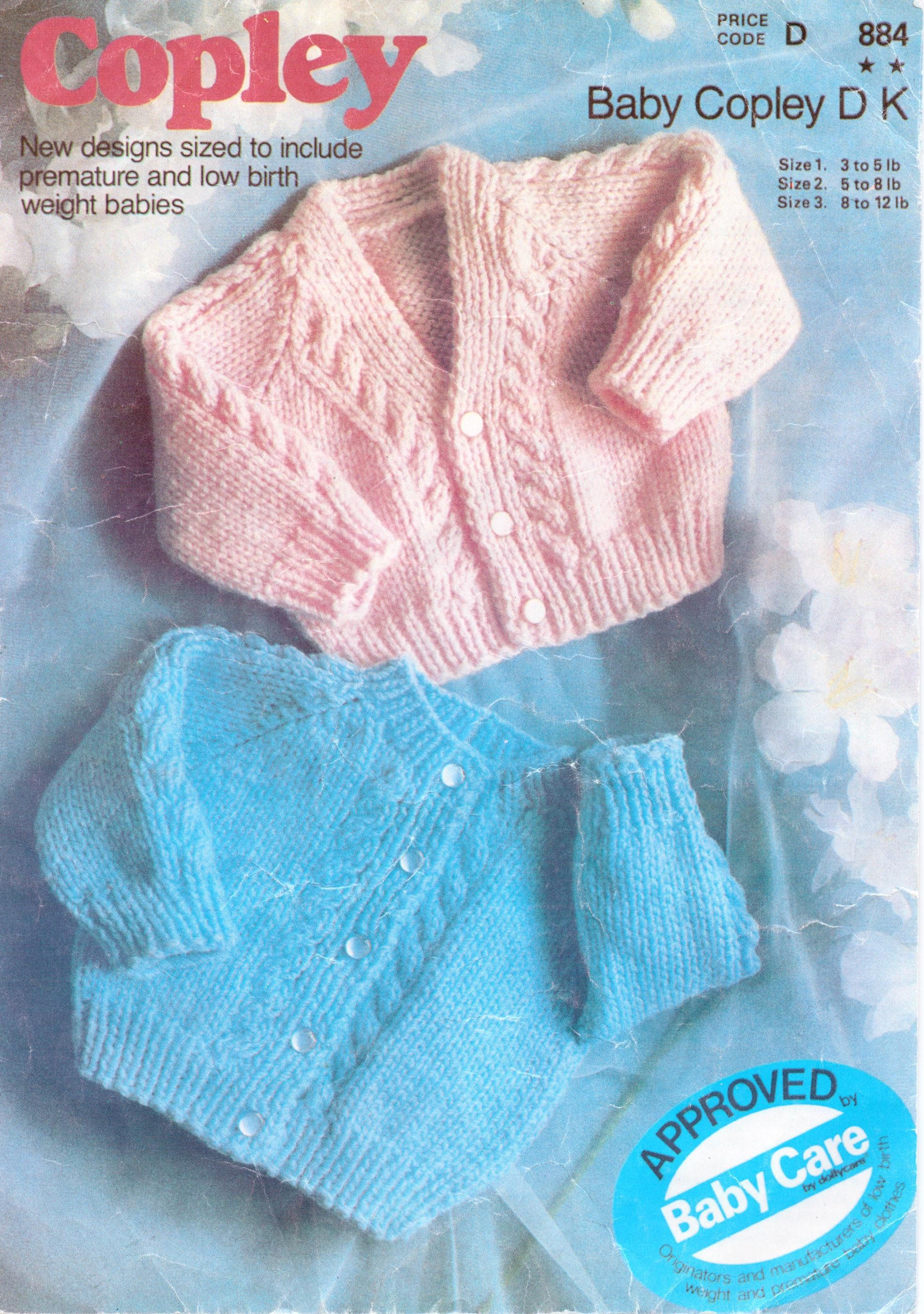 Baby Cardigan Knitting Pattern Baby Jacket Newborn Cable Cardigan V ...
