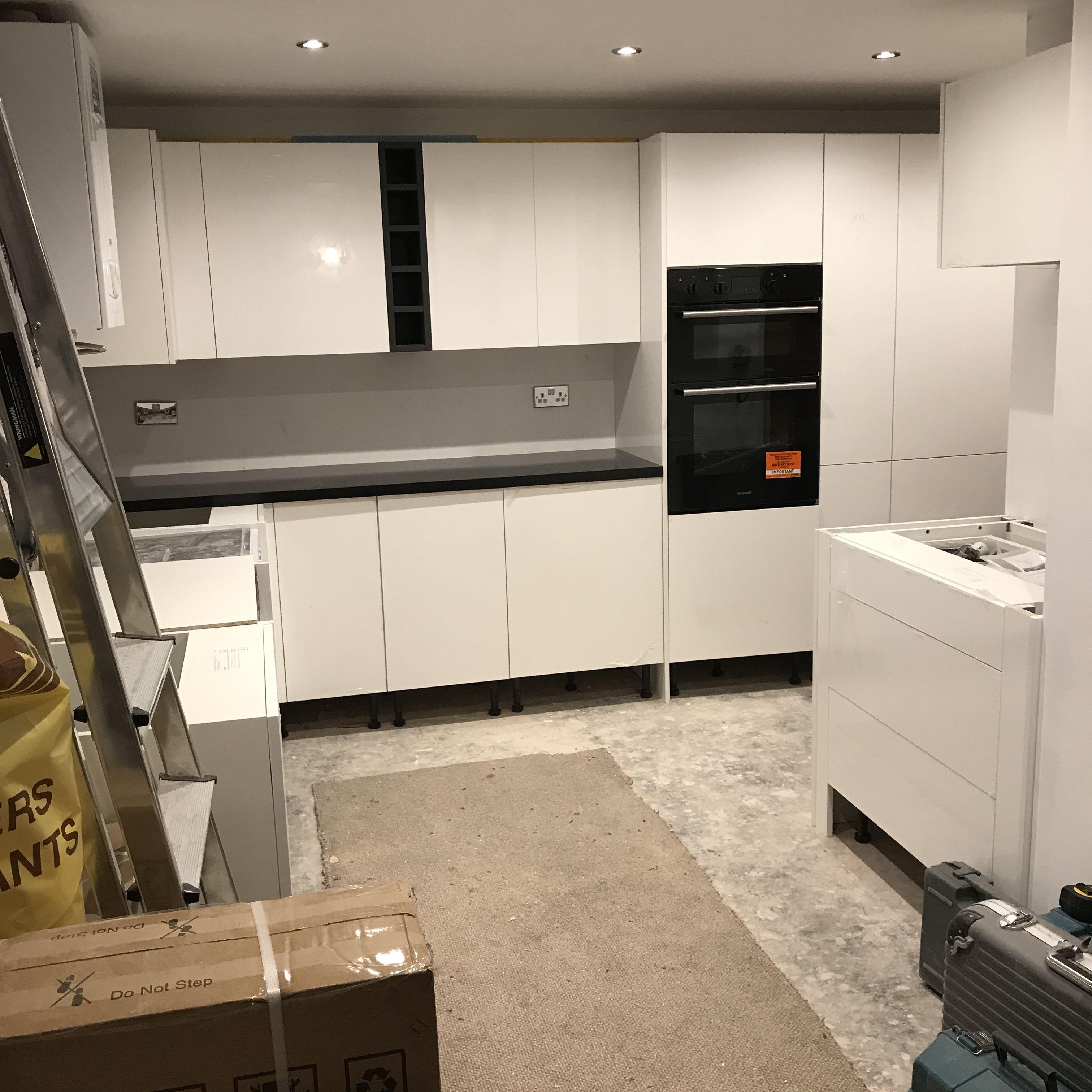 Just Over 2 Weeks Into Our Kitchen Refit So Far So Good