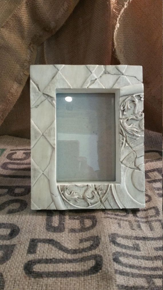 Chalk Paint Frame Vintage Style Frame Picture Frame Carved Picture ...
