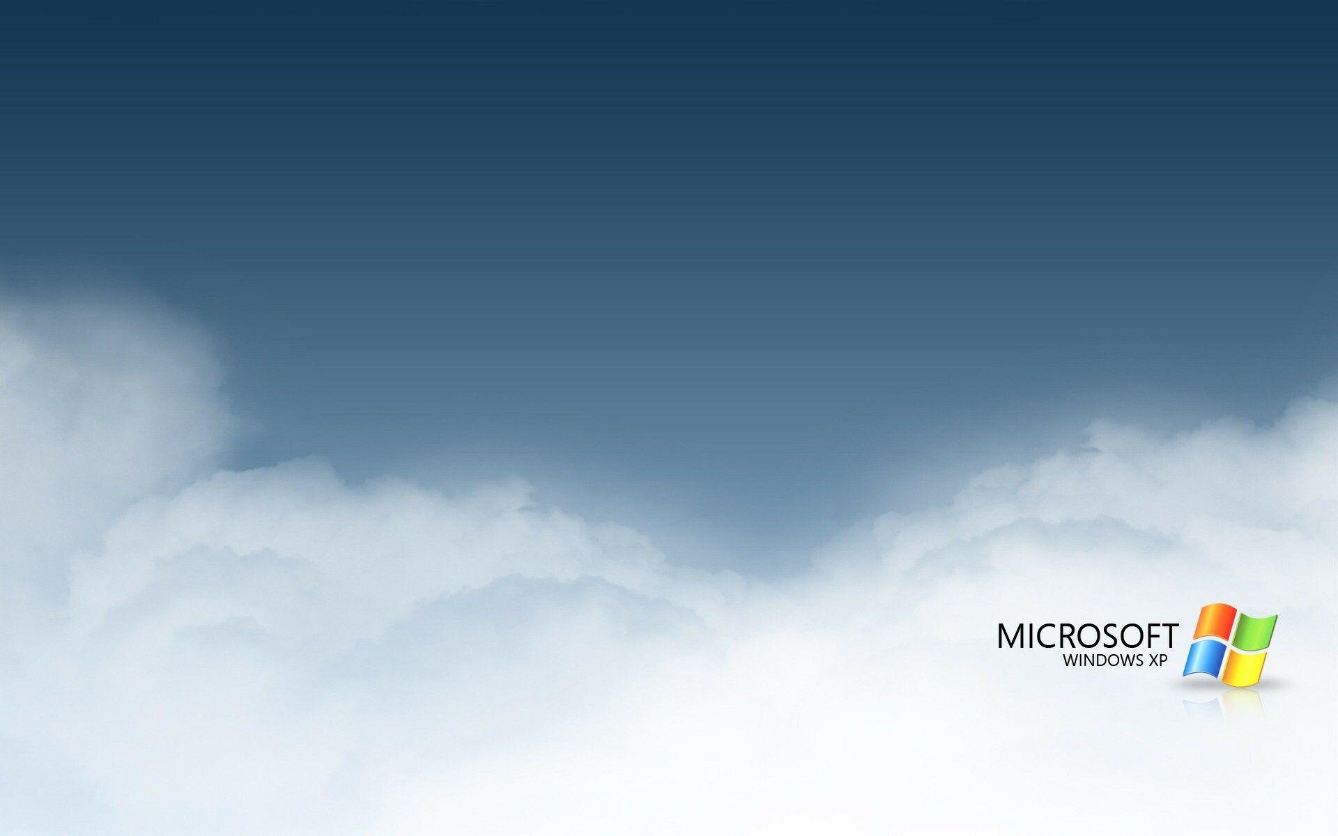 1920x1200 Wallpaper Windows Xp Clouds Gray White