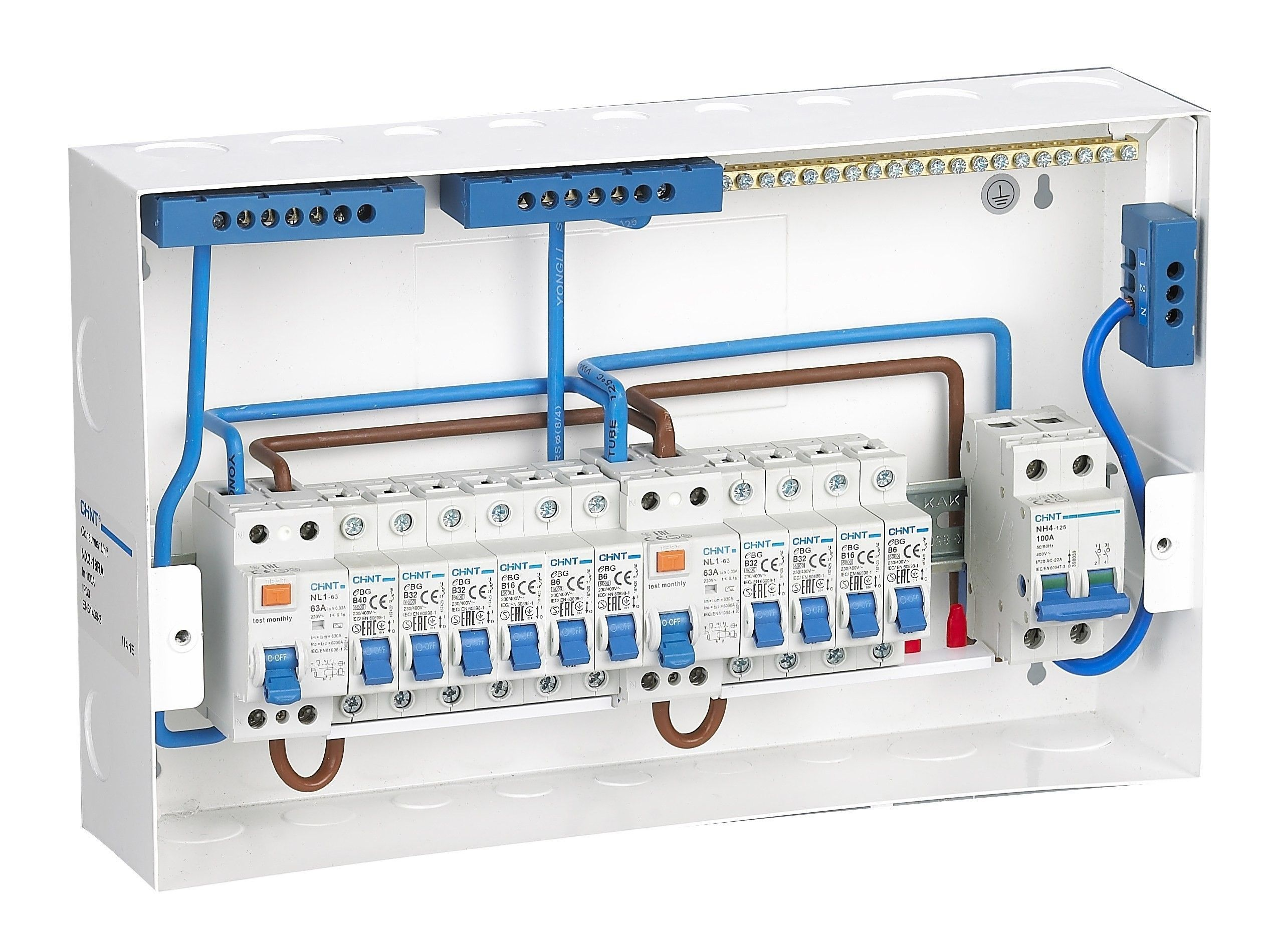 Rcbo Consumer Unit Wiring Diagram Diagram Diagramtemplate Diagramsample Eletrica Residencial Parte Eletrica Eletricista