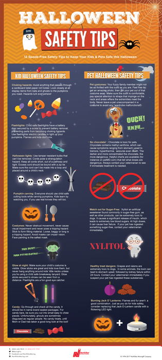12 SpookFree Safety Tips to Keep Your Kids & Pets Safe