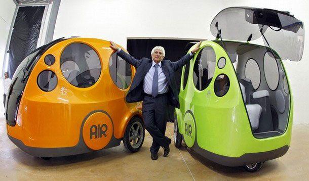 Car That Runs On Air >> The Future Of Transportation Airpod The Car That Runs On