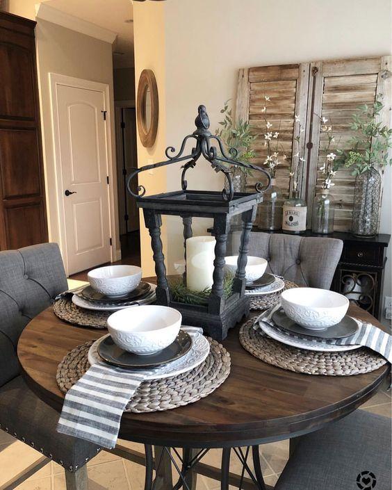 12 Rustic Dining Room Ideas: 50 Amazing Rustic Farmhouse Dining Room Design Ideas