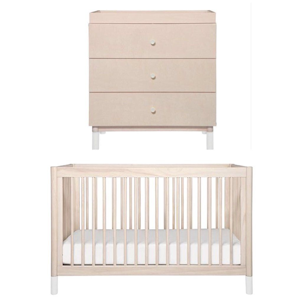 Natural Timber Cot Babyletto Gelato Package Washed Natural Package Deals