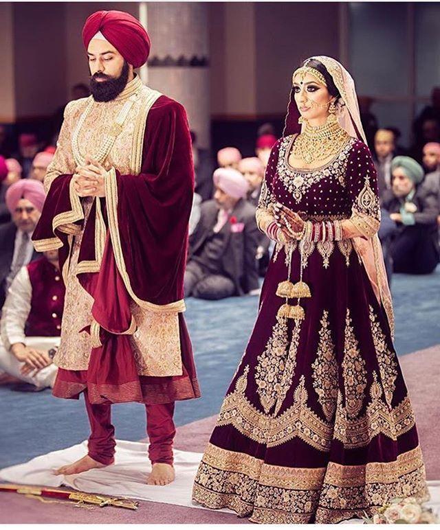 Pin by vaishu on beautiful | Pinterest | Punjabi wedding, Bride ...