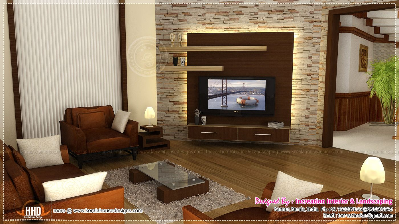Interior design for indian tv units google search tv unit pinterest tv units living - Wall interior design living room ...