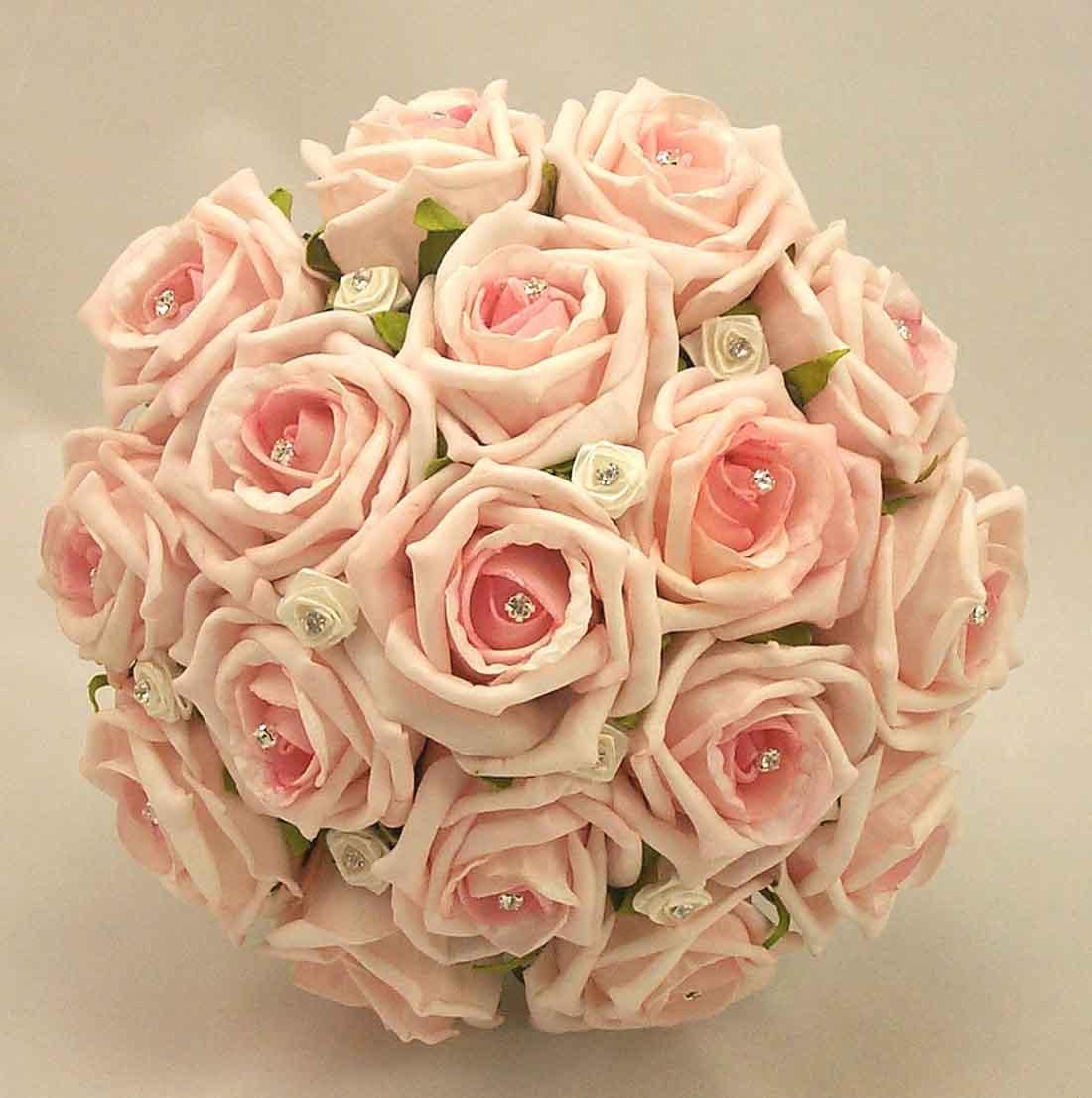 Pink roses wedding bouquets and engagement bridal flower pink roses wedding bouquets and engagement bridal flower decorations dhlflorist Choice Image