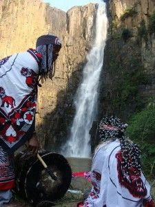 Sangomas Ceremony At Sacred Waterfall | I love to do: in