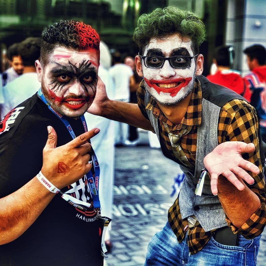 في دبي معرض كوميكون دبي Travelwithp30 Huaweimobilekw Film Makeup Shortfilm Dubai Dubai Dubailife Face Makeup Halloween Face Halloween Face Makeup