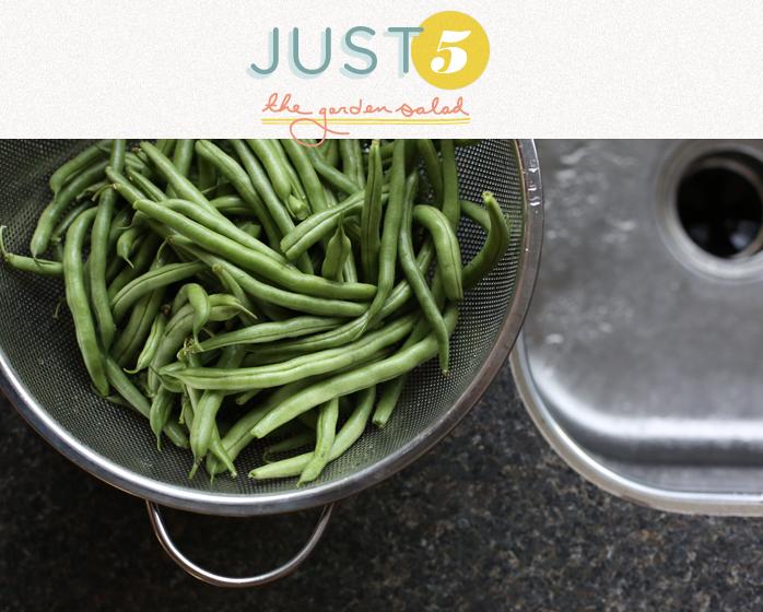 Just 5: The Garden Salad     The Fresh Exchange