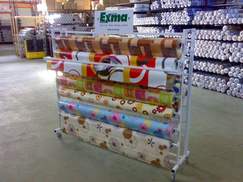 De metal de doble cara tela de muebles rollo de stands de exposici n imagen g ndolas - Rollos adhesivos para muebles ...