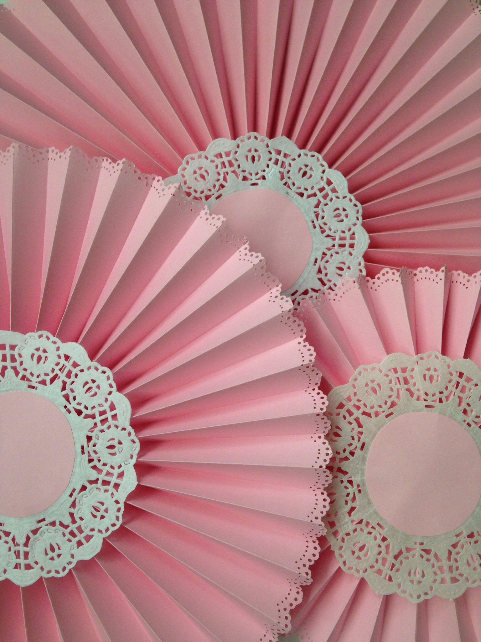 Abanicos pink flor pinterest pink abanicos de for Decoracion con abanicos