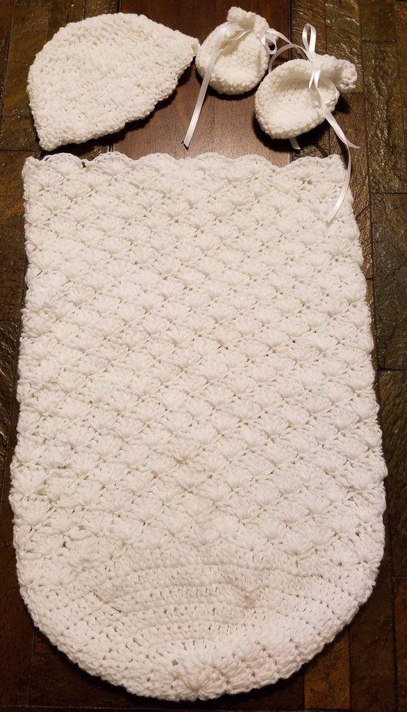 Infant White Cocoon Set