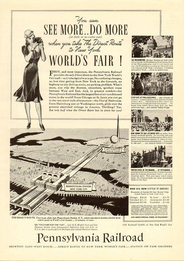 Loading Recipe Pennsylvania Railroad World S Fair Long Island Railroad