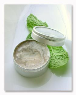 Chocolate Mint Lip Balm. Not to carry it in your pocket since it melts; use it as a bedside treat