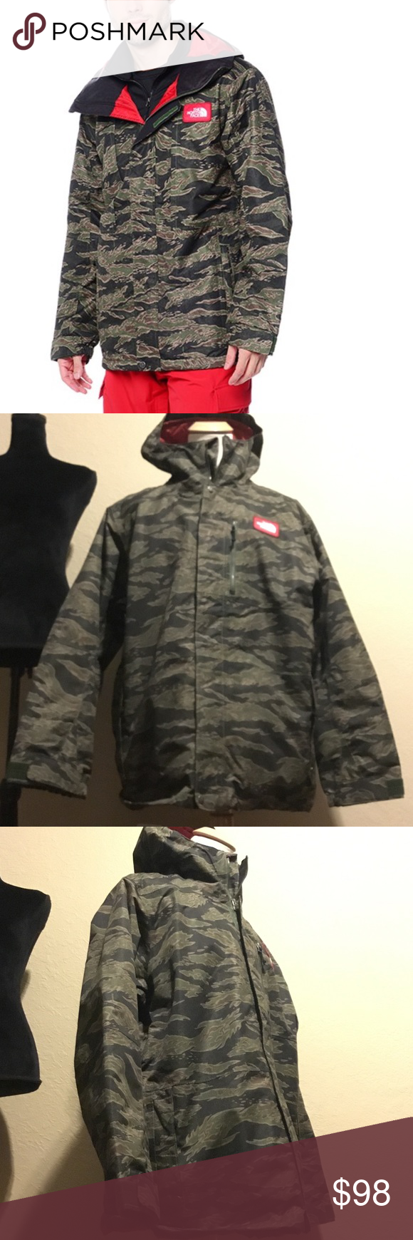 4e9206357c84 The north face men s turn it up jacket XXL New without tag The North Face  Jackets   Coats Military   Field