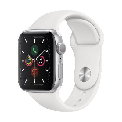 Apple Watch Series 5 GPS Silver with White Band (Choose