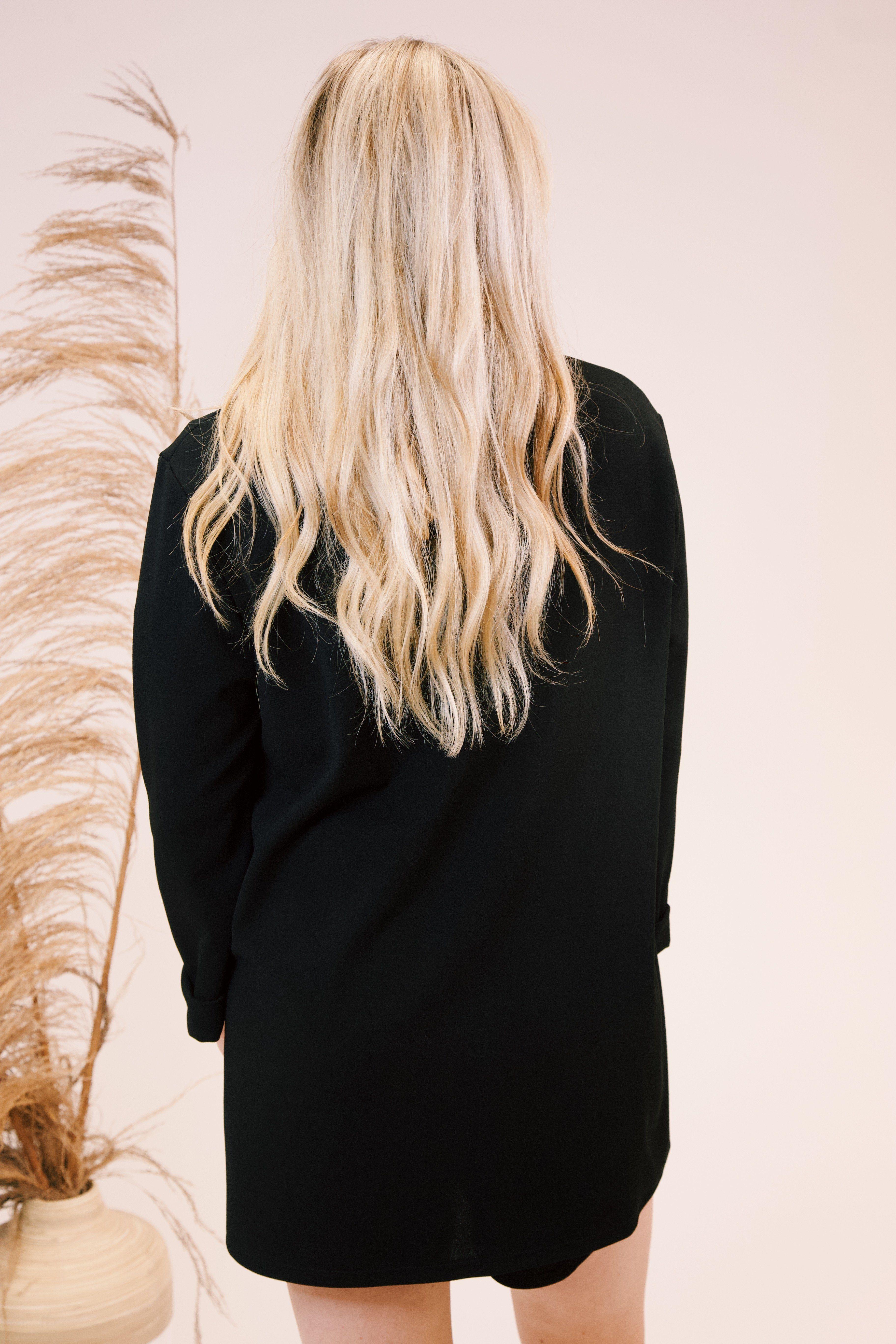 Ophelia Chiffon Shorts, Black