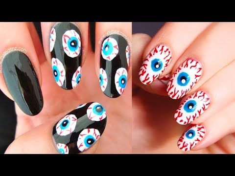 Best Halloween Nail Art Ideas30 Halloween Nail Tutorials2 Youtube