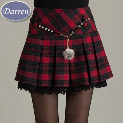 1ffd08d58 Compra faldas de tela escocesa online al por mayor de China ...