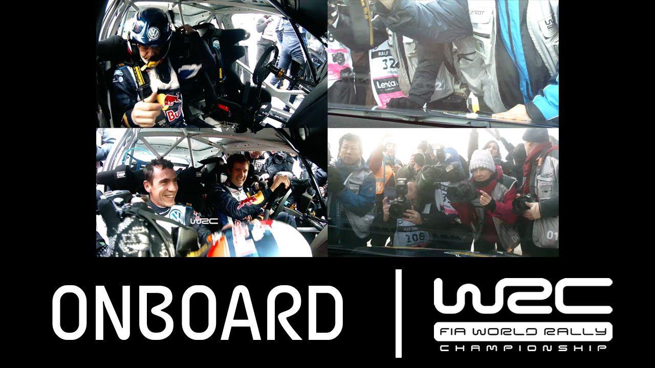 WRC Rally Sweden 2015: Onboard Ogier vs. Mikkelsen