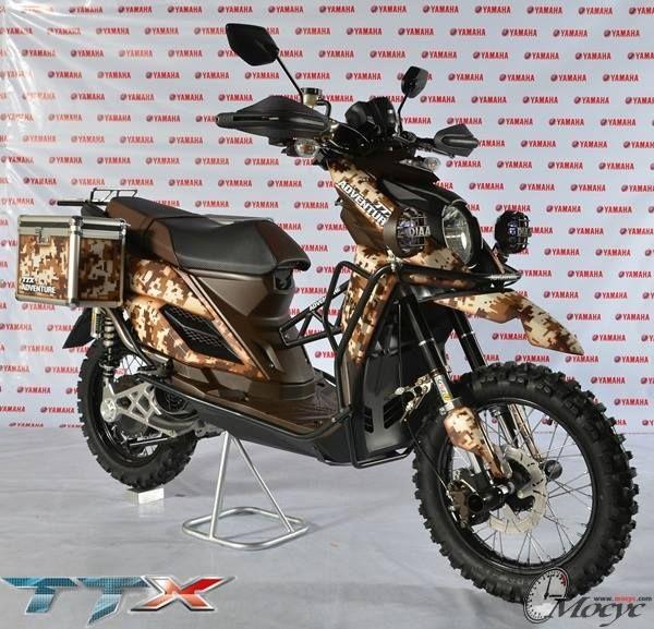 Serba Serbi Yamaha X Ride Motor Yamaha Mobil Galeri