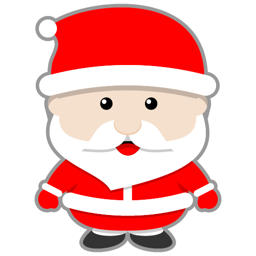 this cute santa claus clip art done in kawaii style can be used for rh pinterest com cute santa clipart cute santa face clipart