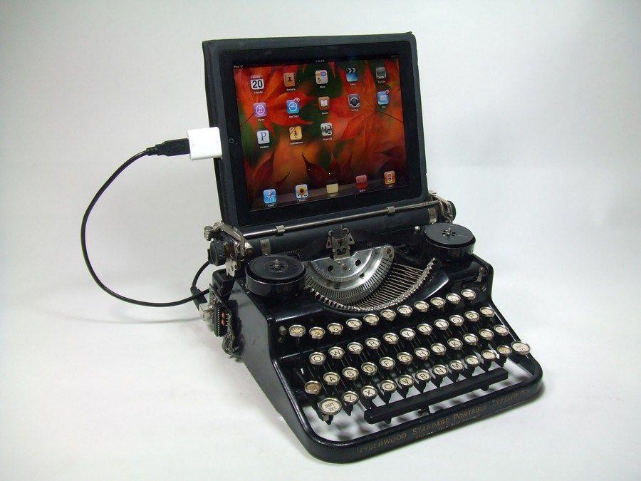 Fantástico ter o prazer de usar o iPad com a experiência incrível de teclar como 'antigamente'.