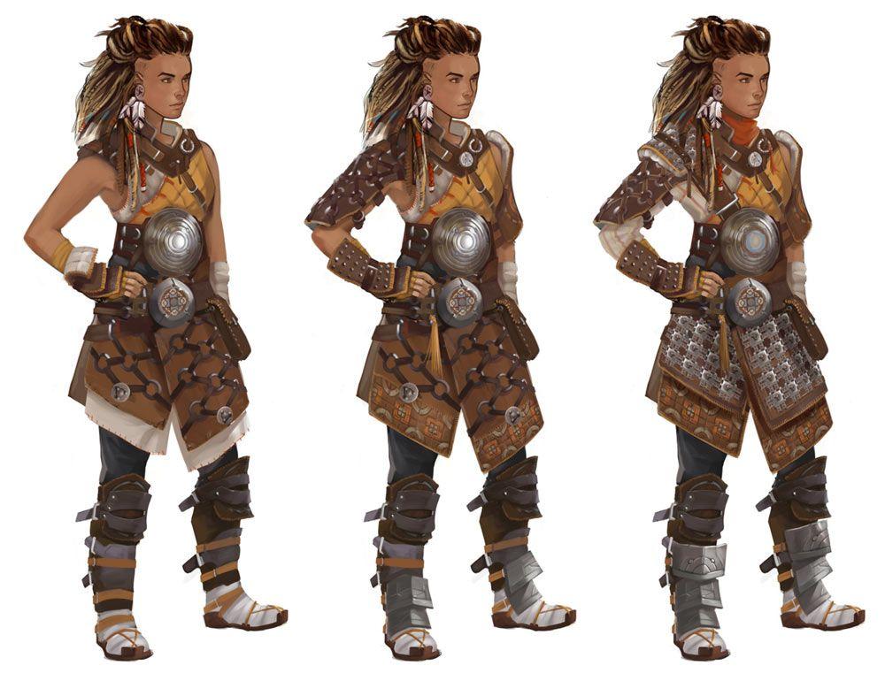 Oseram Arrowbreaker Outfit from Horizon Zero Dawn