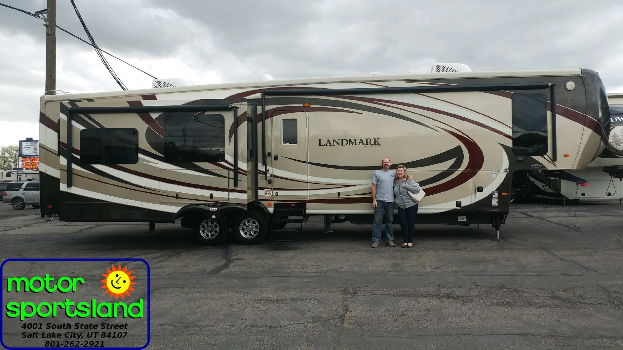 Have fun in your new Landmark by Heartland RVs