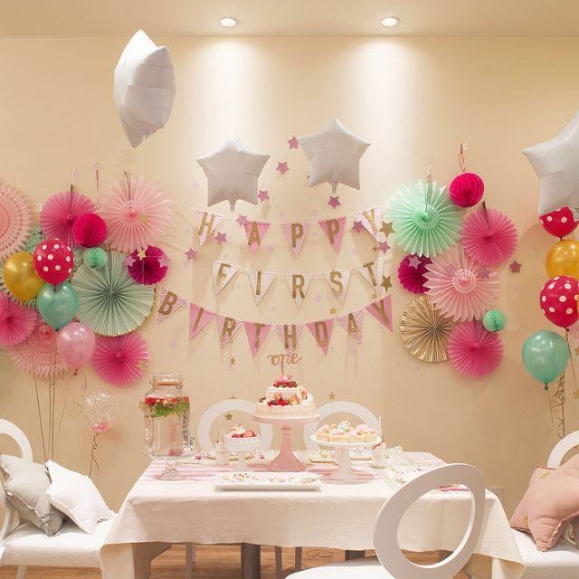 b56d6bef4567a 誕生日の飾り付けアイデア特集 | RoomClip mag | 暮らしとインテリアのwebマガジン