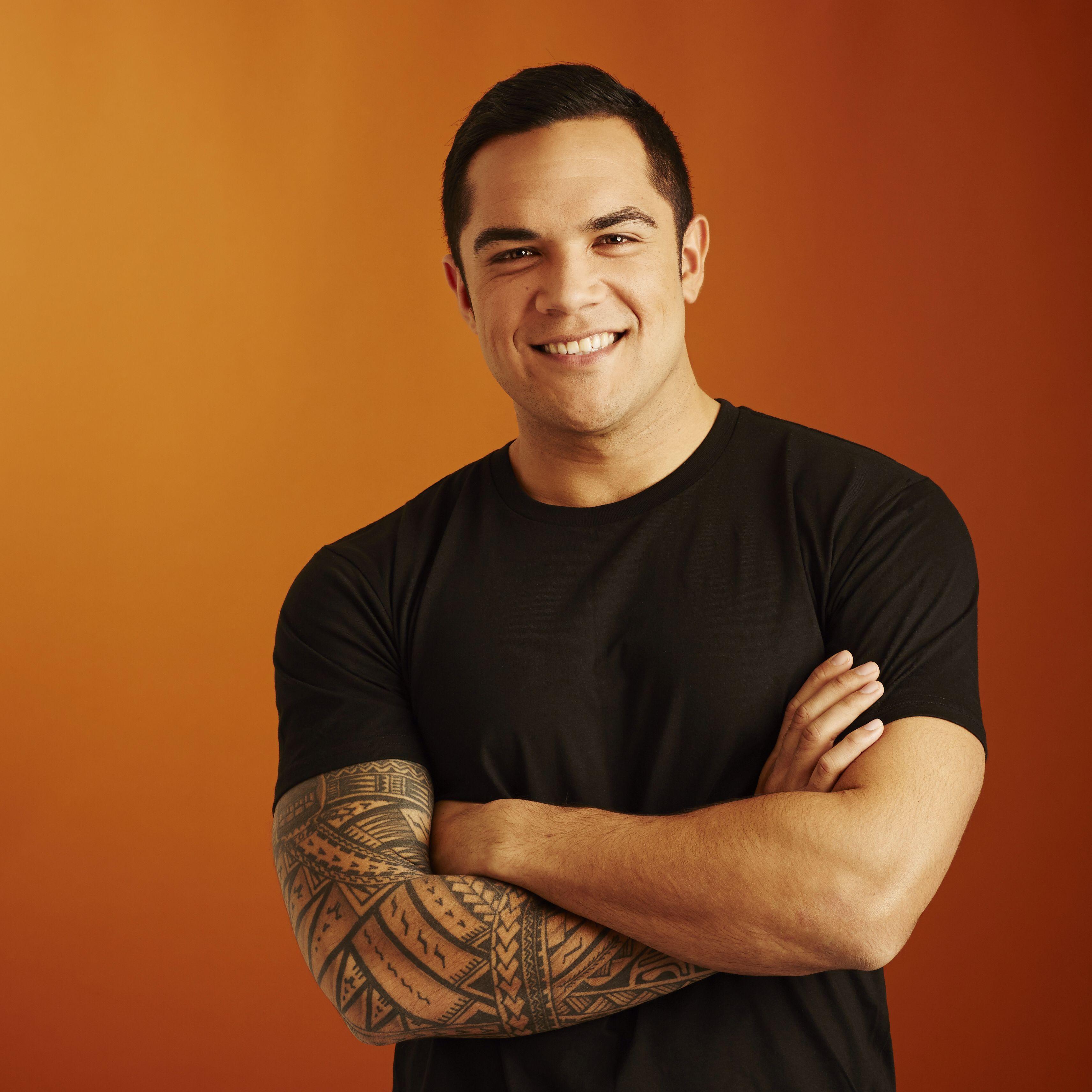 Actor Nick Afoa Polynesian Men Nick Modern Man