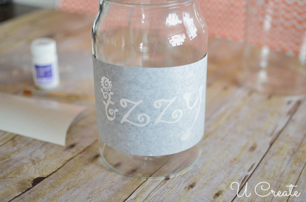 Glass Etching with Vinyl Tutorial