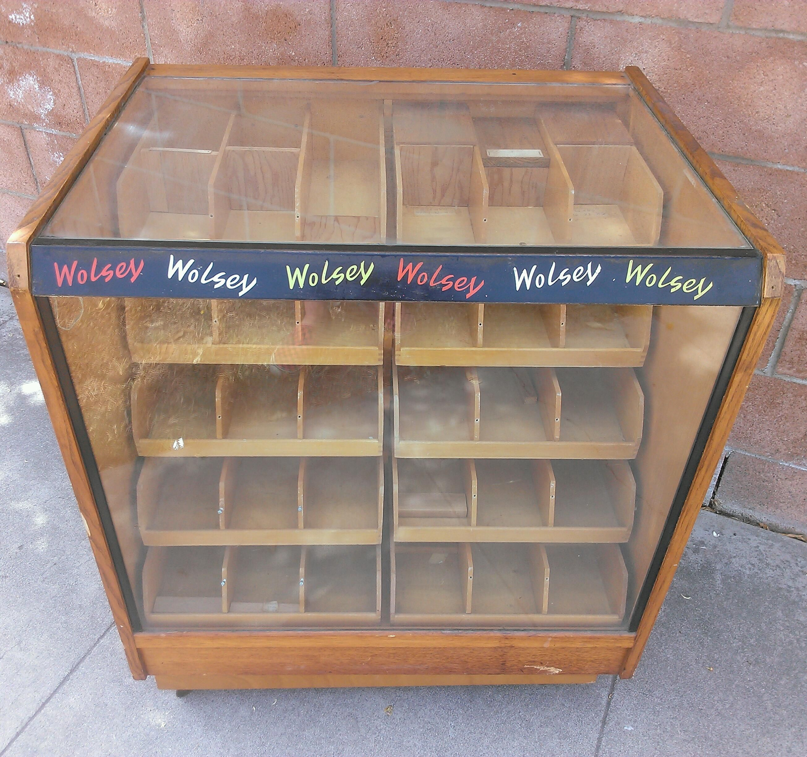 Wolsey Haberdashery Counter Display