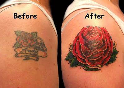 les meilleurs recouvrement de tatouage 15 Les meilleurs recouvrements de  tatouage transformation tatouage tatoo recouvrement photo image.