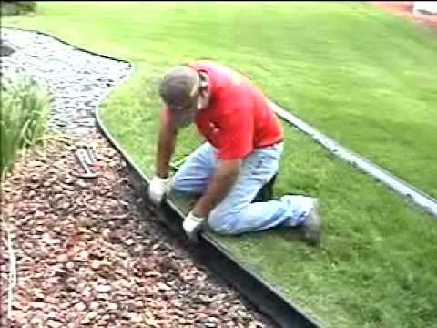 Valley View Lawn Edging Installation Guide With Images