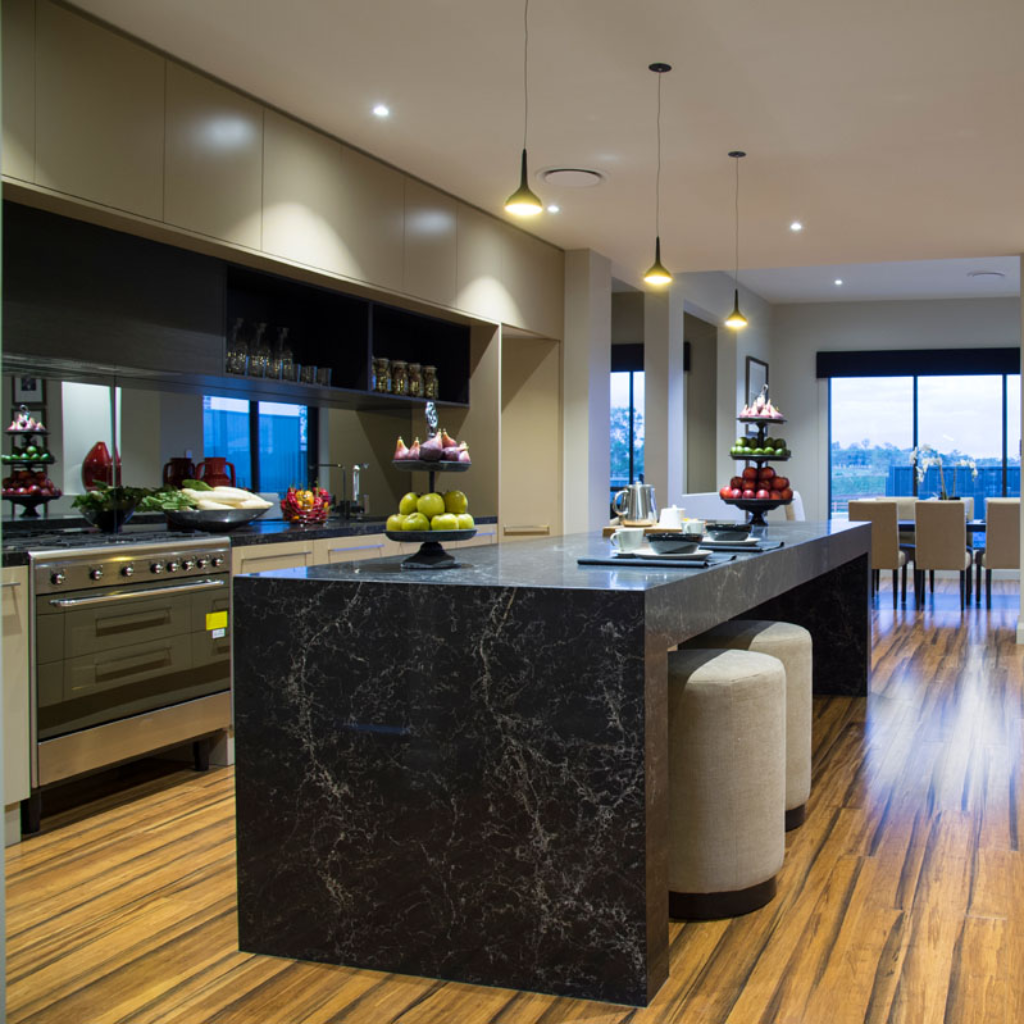 Vanilla Noir Caesarstone Quartz [Dramatic, Powerful