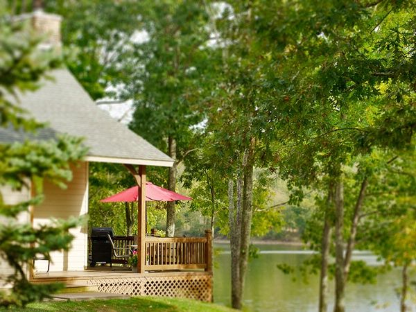 West Virginia Resorts Lakeside Cottages At Stonewall Resort