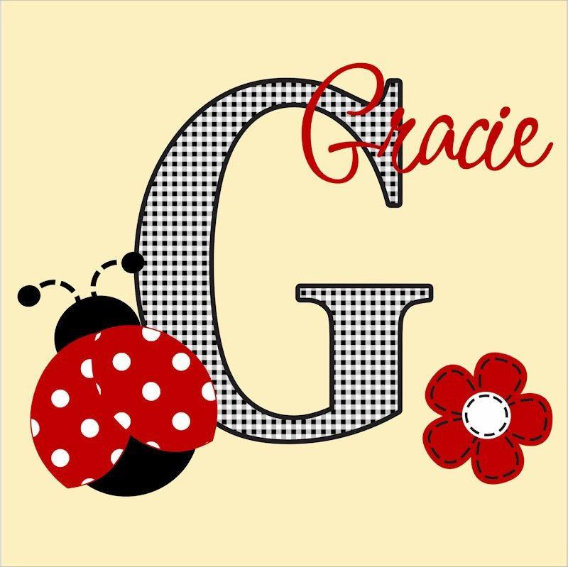 Ladybug Wall Decal Nursery Decor Childrens Art Sticker Lady Bug ...