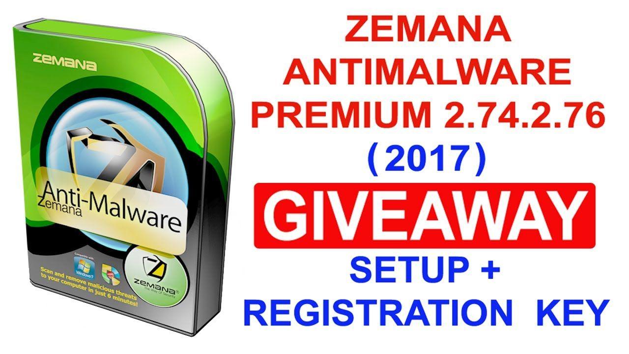 zemana antimalware license key 2018