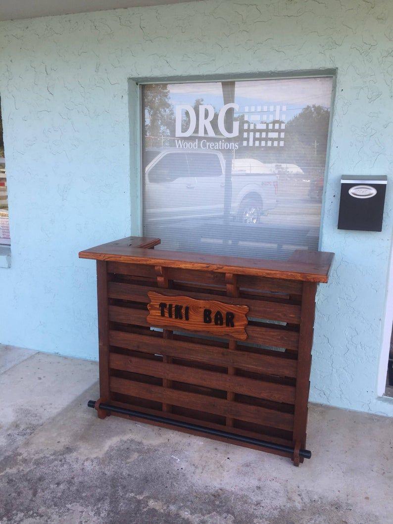 The Mini Kona Pallet / Tiki Bar August Sale The Most ...