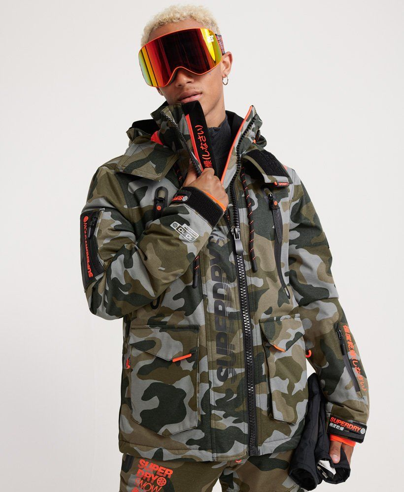 Superdry Ultimate Snow Rescue Jacket Mens Superdry Snow Superdry Jackets Superdry Green Parka Jacket