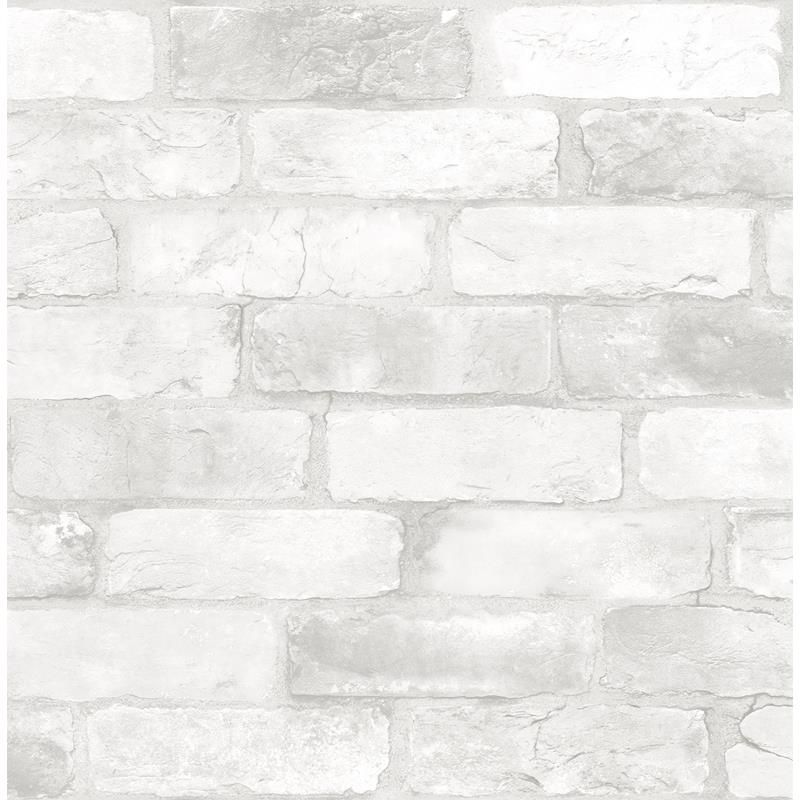Nu2218 Loft White Brick Graphics Peel And Stick Wallpaper White Brick Wallpaper Brick Wallpaper White Brick
