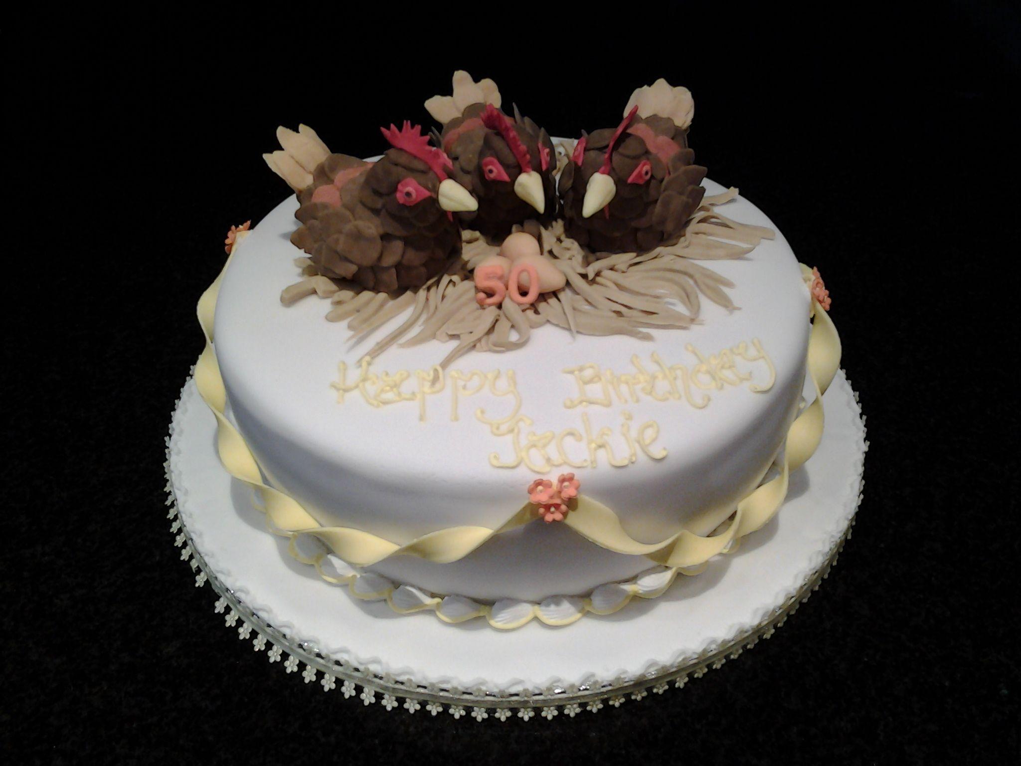chicken birthday cakes